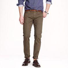Jcrew 484 garment-dyed jean $108