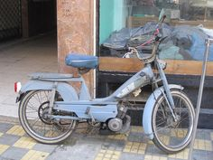 Vintage moped still in use. by CyprusPictures, via Flickr