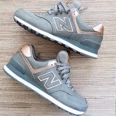 New Balance Metallic 574 Sneakers   Modish and Main