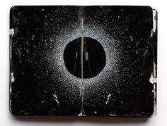 Black Moleskine 18 by Juan Rayos, via Flickr