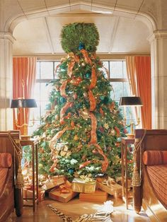 Mary McDonald Christmas tree via Veranda