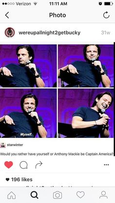 I love your honesty...and Bucky Cap