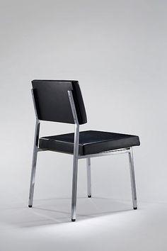 Pierre Guariche, Prestige chair, 1960, ©demishdanant.com Pierre Guariche, My Furniture, Dining Chairs, Minimalist, Cool Stuff, Designer, Inspiration, Objects, Detail