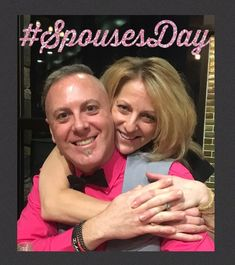 Today is #SpousesDay so here is Kim and her husband Michael.  #LVSmileDesigns