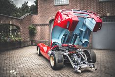 Ferrari 330 P4. Any car that has a rear clamshell is sexier for it. The end