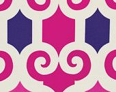 BTY Jennifer Paganelli JP56 Super Fly Jane Pink/Purple Cotton Fabric by the yard