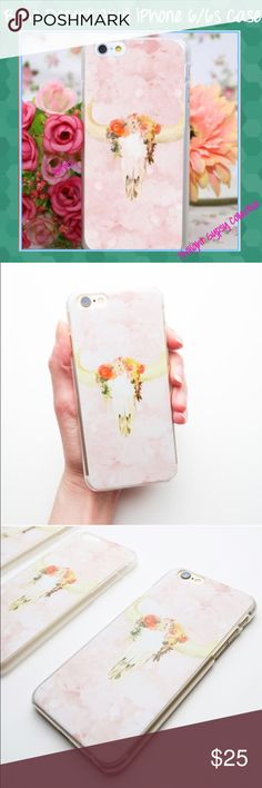 SALEBOHO Cow Skull iPhone 6 6s Case DESERT SKULL BOHO IPHONE 6/6s PHONE CASE!! These ADORABLE phone cases are made of a durable plastic and fit BOTH the iPhone 6 and 6s... Easy to snap on and off ALL ports accessible These are a Twilight Gypsy Exclusive!! ONLY 4 AVAILABLE--I'm keeping 1 of these beauties for myself! NO OFFERS on retail items please NO TRADES OR HOLDS Stock photos courtesy of Twilight! Twilight Gypsy Collective Accessories Phone Cases