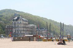 WE de Pentecôte - plage de Houlgate, via Flickr.