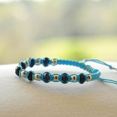 Raya in Aqua – LucaLove Bracelets