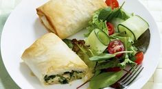 Chicken Spinach & Feta Parcels