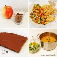 Mein veganer Tag - My vegan day, October 2015