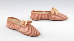 Shoes, 1845-60 France (probably), the Met Museum A rare example of extant day shoes from this era