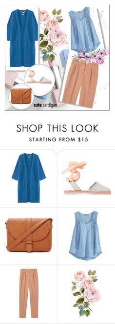 """Spring layers"" by olimanaj3 ❤ liked on Polyvore featuring 81hours, Sophia Webster, Forever 21, Calypso St. Barth, Toast, Sephora Collection, Karlsson, cutecardigan and springlayers"