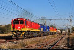 Net Photo: Transnet Freight Rail Class (EMD at Pretoria, Gauteng province, South Africa by Eugene Armer South African Railways, Diesel, Electric Locomotive, Pretoria, Trains, Locomotive, World, Diesel Fuel, Train