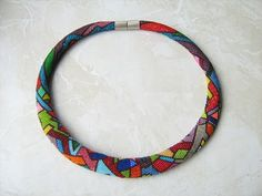 beaded art jewelry by Viktoria Luftensteiner