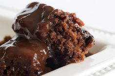 Chocolate Cobbler - 1 1/4 c sugar, 1 c flour, 7 T cocoa, 2 t baking powder, 1/4 t salt, 1/2 c milk, 1/3 melted butter, 1 1/2 t vanilla, 1/2 c brown sugar, 1 1/2 c hot water. 350 for 35-40 mins.