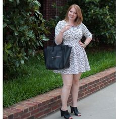 Tracy V. wears The Color Me In Dress from #FevrieFashion