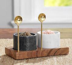 Marble Salt & Pepper Shaker | Pottery Barn #LGLimitlessDesign #Contest