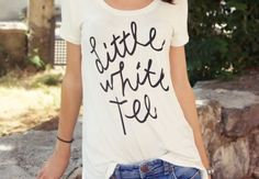 Relaxed tees.