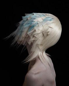 Hair by Adam Szabo and Mai Ha @ Trevor Sorbie. Image courtesy of Estetica.