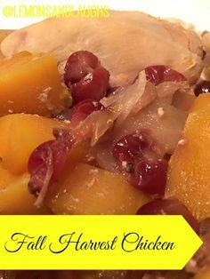 fall harvest chicken