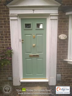 Chartwell Green Solidor Timber Composite Doors 12 Months Interest Free Credit by Timber Composite Doors Real Pictures Real Homes Real Doors Real Solidor ... & Giveaway : A Fully-Fitted Composite Yale Door - http://www ...