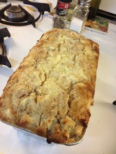 A few of my favorite things: RECIPES & DIY: Cream Cheese Apple Bread!