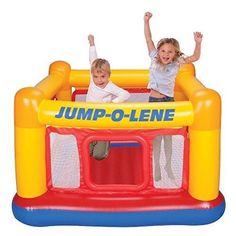 Inflatable Bounce House Bouncer Castle Jumper Kids Indoor Outdoor Ball Pit Play #InflatableBounceHouse