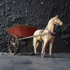 horse and cart - Decorative Collective Antiques Online, Selling Antiques, Antique Items, Vintage Items, Metal Cart, Extraordinary People, Antique Market, Close Up Pictures, Inspirational Gifts