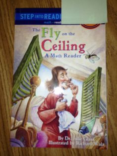 This book tells the story of how Descartes started to think about the coordinate system: wanting to map out where he saw a fly on the ceiling while sick.teaches the scientific aspect of inquiry Teaching Map Skills, Teaching Maps, Teaching Social Studies, Teacher Worksheets, Math Books, Math Concepts, Mathematics, Literacy, Grid