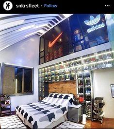 Behind The Scenes By driipcollection Modern Master Bedroom, Modern Bedroom Design, Streetwear, Boys Bedroom Decor, Bedroom Ideas, Style Japonais, Room Goals, Dream Decor, My Room