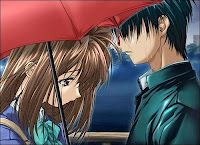 Emo Lovers In Rain