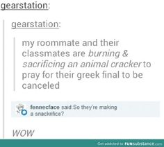 Uhmmm...I'm sorry. But I think everyone here would ACE that final. You know, considering greek mythology