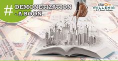 Demonetization – A Boon For Property Buyers:  Another great effect of demonetization has been in the form of a downward pressure on the structure of interest rates. A lot of people have to think twice before applying for a home loan as they cannot afford the sky high EMIs.... http://www.starommillenia.com/blog/demonetization-boon-property-buyers/