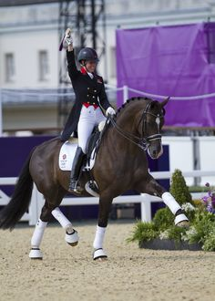 Olympic Gold Medalist Charlotte Dujardin Supports International ...