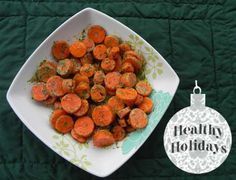 Dilled Carrots... an easy & healthy holiday dish sure to please!