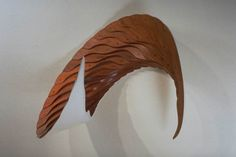 Spiral 1993, Wood and mixed media,  33 x 34 x 33 inches, Fritz Dietel Sculpture