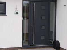 Rockdoor | UPVC Doors | Door Preston | Gallery Front Door Porch, Front Doors, Upvc Windows, Preston, Porches, Foyer, Tall Cabinet Storage, Entrance, New Homes