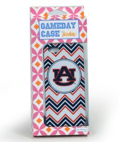 Another great find on #zulily! Auburn Tigers Chevron Case for iPhone 5/5s by Desden #zulilyfinds