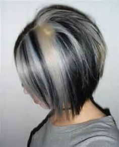 black silver hair - Bing Images