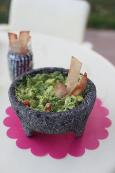 it's summer, must have guac  (note to self, get a volcanic rock Molcajete)