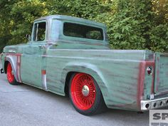 Hot Rod e Kustom: Ford F-100 59 mod. americano estilo rat rod.