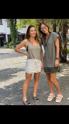 Short Jeans, Casual Summer, Summer Dresses, Hot, Fashion, Skirt, Outfits, Moda, Summer Sundresses
