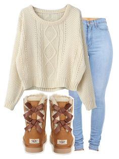 Feb 2020 - A fashion look from June 2013 by ayepaigee featuring UGG Australia Cute Lazy Outfits, Cute Swag Outfits, Teenage Girl Outfits, Cute Outfits For School, Cute Winter Outfits, Teen Fashion Outfits, Outfits For Teens, Pretty Outfits, Cute Fashion