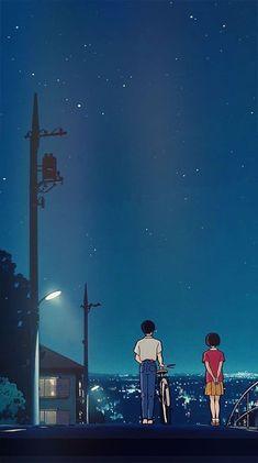 Studio ghibli,whisper of the heart,hayao miyazaki Art Studio Ghibli, Studio Ghibli Films, Studio Ghibli Quotes, Handy Wallpaper, Wallpaper Free, Wallpaper Backgrounds, Heart Wallpaper, Cute Backgrounds Phone, Beautiful Wallpaper For Phone