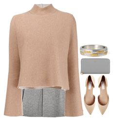 """""""Preadored 3.19"""" by emilypondng ❤ liked on Polyvore featuring T By Alexander Wang, Proenza Schouler, Steve Madden, DKNY and PreAdored"""