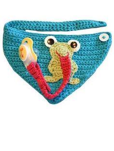 Dieses Tuch ist ein echter Allrounder für unsere Kleinen - Häkelanleitung via Makerist.de