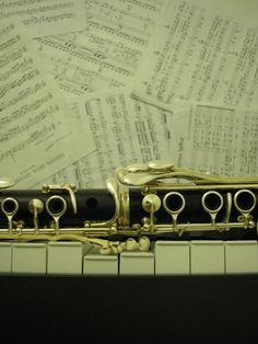 Piano & Clarinet. My chosen instruments of love.