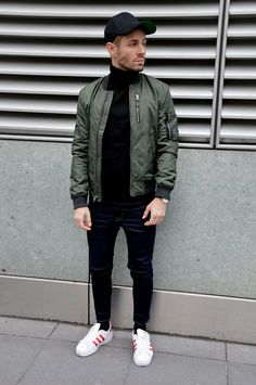 380 Best Green Bomber Jacket Images In 2019 Man Fashion Casual