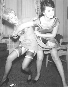 I love a good Girl Fight. Girls should do this more often. Nylons, Vintage Photographs, Vintage Photos, Vintage Girls, Retro Vintage, Vintage Stockings, Girl Fights, New Wife, Stockings And Suspenders